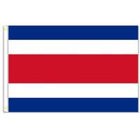 Kosta Rika bayrakları banner Boyutu 3x5FT 90 * 150 cm metal grommet ile, Açık Bayrağı