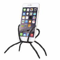 حار بيع العالمي العنكبوت حامل الهاتف لجميع الهواتف المحمولة كاميرا هاتف السيارة شماعات هوك قبضة حامل جبل لتحديد المواقع