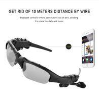 V4.1 sans fil Bluetooth lunettes de soleil en plein air lunettes de soleil  stéréo mains libres casque écouteurs écouteurs pour téléphone intelligent  1pcs   ... 3d7e10ed7cde