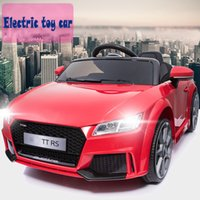 2018 hot sell music Kids electric cars four wheels children ...
