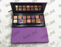 Factory Direct DHL Free Shipping New Makeup Eyes Purple Box ...