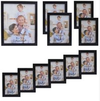 Giftgarden Photo Frame Black Photo Frames for Living Room Frames for Picture and Posters، Set of 11 PVC Cover Front