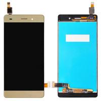 Для Huawei P8 Lite ЖК-Дисплей + Сенсорный Экран 100% Новый Замена Стеклянной Панели Дигитайзера Для Huawei Ascend P8 Lite