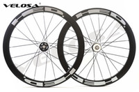 Velosa super sprint 50 HED track bike carbon wheelset, 700C 5...