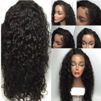 Hot Sexy Natural Black Brown Long kinky Curly Wigs with Baby...