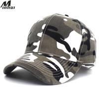 Minhui 2018 Nouvelles casquettes de baseball de camouflage pour adultes et enfants Casquette Snapback extérieure pour hommes en chapeau Gorras enfants