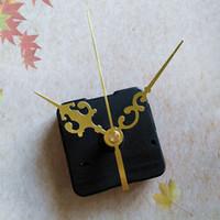 Whosale 50PCS لا تيك الصين مصنع كوارتز ساعة حركة عدة المغزل آلية رمح 13MM مع اليدين