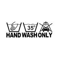 16.5 * 5.3 CM Lavar as Mãos Apenas interessante motocycle etiqueta do carro decalque laptop decalque CA-144