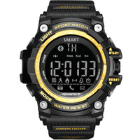 Multi Functional Smart watch Pedometro Alpinismo Orologi da uomo Sports Ranging Bluetooth Information Phone Promemoria Bracciale da polso