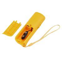 عالية الجودة 3 في 1 جهاز مكافحة نباح وقف النباح بالموجات فوق الصوتية الكلب التدريب المدرب طارد التدريب أن يبعد مع مبيعات LED ضوء الساخن