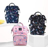 Unicorn Mommy Mama Backpacks Nappies Bags Mother Maternity D...