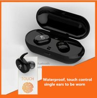 Wireless Bluetooth headset light portable touch type waterpr...