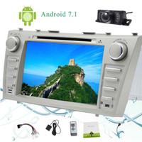 Eincar Camera + Android 7.1 2GB + 32GB Octa Core 8''CAR Autoradio for TOYOTA CAMRY (2007-2012) 2 딘 자동차 라디오 스테레오 자동차 DVD 플레이어 블루투스