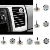 Diffusore di oli essenziali per auto Diffusore di oli essenziali per auto Clip da 30 mm in acciaio inox Deodorante per auto Condizionatore Vent Clip WX9-296