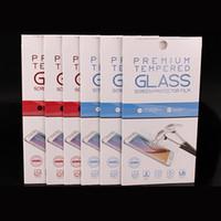 Nouveau 10 en 1 couleur emballage cadeau boîte de détail pour téléphone cellulaire protecteurs d'écran en verre trempé film iphone samsung livraison gratuite