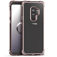 iPaky Case For Samsung Galaxy S9 Plus Transparent Back Cover...
