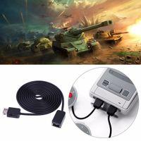 ALLOYSEED Accesorios para juegos Cables 1.8m / 5.9ft Cable de extensión para Nintendo SNES Classic Mini Console para NES / Wii Controller