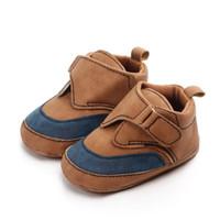 Baby Boys Schuhe Säugling Kleinkinder Anti-Rutsch Baby Mokassins Schuhe Frühling Pu-Leder Erste Wanderer Casual Baby Schuhe
