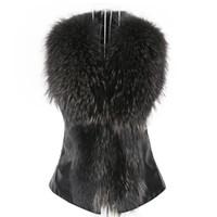 Womail Femmes Faux Gilet Veste Veste Sans manches Hiver Corps chaud Couturier Gilet Gilet Gilet Cardigan Femme Vest 2018 L30726