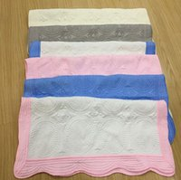 Children embroidery blanket 100% Cotton baby quilt breathabl...
