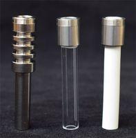 Far passare titanio quarzo ceramica Nails Suggerimenti per Nectar Collector Micro Nectar Collector V4 Kit Gr2 Titanium
