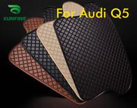 Auto Styling Kofferraummatten für Audi Q5 Trunk Liner Teppich Bodenmatten Tray Cargo Liner Wasserdicht 4 Farben Opitional