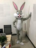 2018 Vente d'usine à rabais Professionnels Mascot Lapin De Pâques Costumes Lapin et Mascottes Lapin Mascotte Adulte à vendre