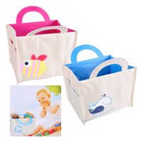 Multi- function Storage Bag Canvas Kid Cartoon Laundry Bags T...