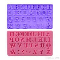 3D алфавит модель выпечки формы 26 английский письмо дизайн положительный полигон DIY торт украшение плесень жидкого состояния Силиконовый дизайн 5 8yq ZZ
