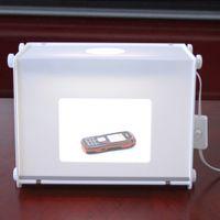 5500LUX 110V-250V 310 * 225 * 230 mm SANOTO MK30 mini portátil de luz LED Plumas Fotografía Estudio Caja de luz Caja de luz