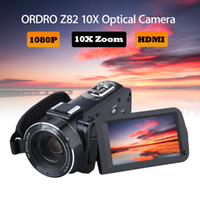ORDRO HDV- Z82 3. 0 Inch TFT LCD Touch Screen 1080P HD Camcord...