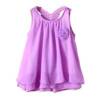 طفل الفتيات اللباس الصيف طفل الأطفال طفلة الشيفون الصدرية توتو اللباس