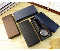 productos de papel de alto grado boxs relojes de embalaje Grupo Cajas de caja / caja de la joyería / regalo de visualización / caja de reloj de viaje
