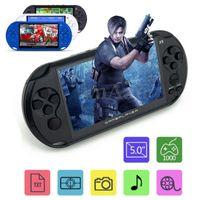X9 rechargeable 5.0 joueur de poche rétro jeu vidéo lecteur mp3 caméra de poche 8g