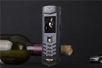 Unlocked Lüks İmza çift sim kart Cep Telefonu Metal Gövde MP3 Kamera bluetooth metal vücut Klasik 8800 cep telefonu cep telefonu ücretsiz cas
