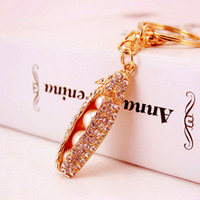 Exquisite Imitation Pearls Pods Keychain Charm Women Handbag...