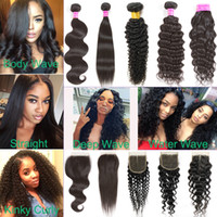 Amazing Mink Brazilian Straight Virgin Human Hair Weave Bund...