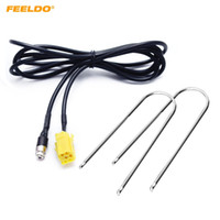 FEELDO Auto ISO 6Pin zu 3,5 MM Klinke Stereo Audio Aux Kabeladapter Für Fiat Grande Punto Alfa 159 mit 2 stücke Schlüssel Werkzeuge # 5734