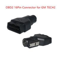 CKS 1PC OBD2 16PIN Adattatore Connettore per GM TECH2 Strumento Diagnostico OBDII Auto Scanner Adapter 16 Pin Plug