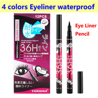 Eyeliner Pen Eye Liner Pencil 36H Eyeliner Pen 4 colors Long...