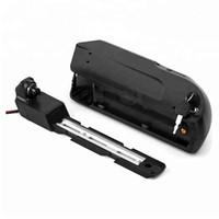 무료 배송 전기 자전거 리튬 배터리 48v 13Ah USB 다운 튜브 Hailong 750W 1000W 8Fun / Bafang 모터 + BMS + 충전기 2A