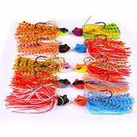 Whiskers Squid Bass Jigs Spinner Esche da pesca 8cm 13g Beard Tail 3D Realistic Fish Eyes Esca con Big Hook singolo