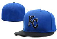 2018 style été Royals KC lettre Baseball caps Bone Top Qualité Hommes Printemps Hip Hop Casquette Fitted Des Chapeaux