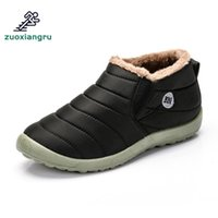 Zuoxiangru Men Walking Shoes Male Lightweight Winter Shoes W...