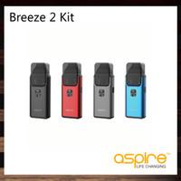 Aspire Breeze 2 AIO Kit 3ml Sistema di casse da serbatoio con design ergonomico e compatto Batteria da 1000mAh incorporata 100% originale