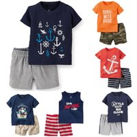 Pirate Baby Clothes Set Casual Boys Outfits 100% Cotton Chil...