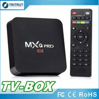 CAJA DE TV MXQ PRO Quad Core 1 GB RAM 8 GB ROM Rockchip RK3229 Caja de TV Quad Core Android 7.1 con personalizado 17.6 4K Media Player MQ15