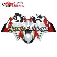 Branco Vermelho Completo Carenagens Para Ducati 899 1199 2012 2013 12 13 Plásticos ABS Carenagens Motocicleta Carenagem Kit Cowlings Novos Painéis Kits Body Work