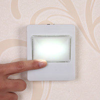 Magnetico Mini COB LED Night Lights Cordless Wall Light Switch Luce USB / Battery Magic Tape per Baby Bedroom Luci di parcheggio