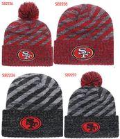a4483f6118e Winter Hat San Francisco Beanie SF stripes Sideline Cold Weather Graphite  Sport Knit Hat Wool Bonnet Warm Official Reverse Cap Beanie